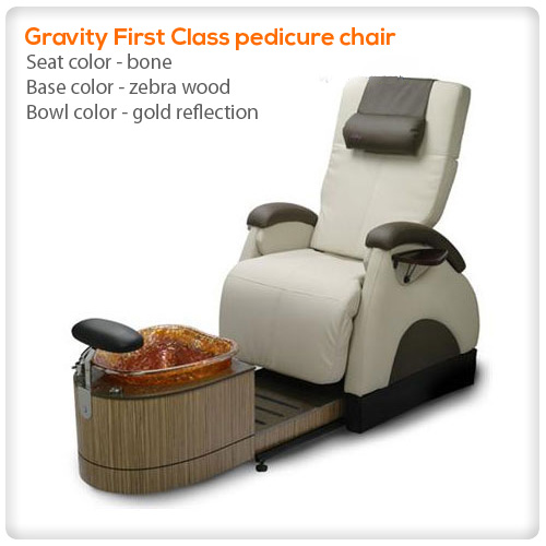 Gravity first class spa pedicure chair for Gravity salon