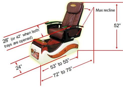 Cascade Spa Pedicure Chair Spasalon Us