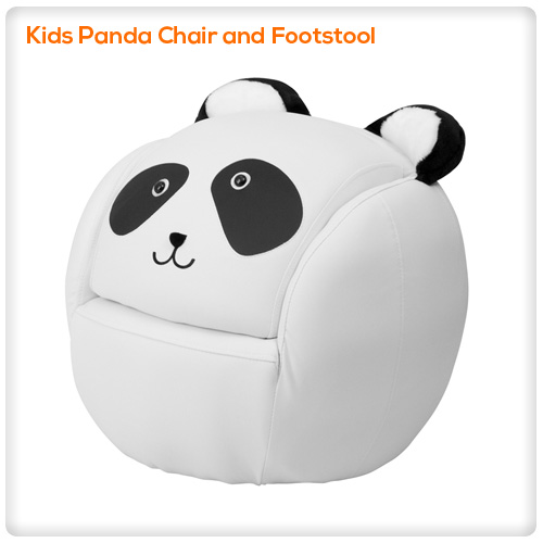 Prime Kids Panda Chair And Footstool Spasalon Us Gmtry Best Dining Table And Chair Ideas Images Gmtryco