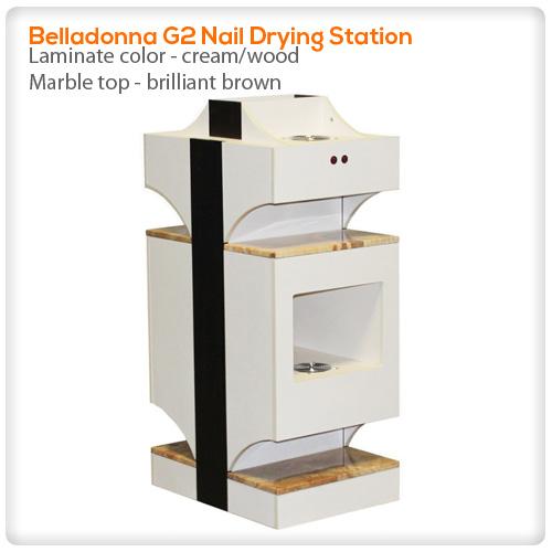 Belladonna G2 nail drying station @ SpaSalon.us